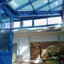 Copertura vetrata in alluminio e vetro - Facciate e coperture vetrate