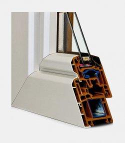 Finestra Colore in pvc – (sistema MD)