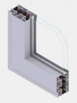EL72 P serramenti a battente
