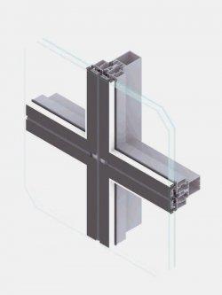 EL50 FS-B facciate e vetrate