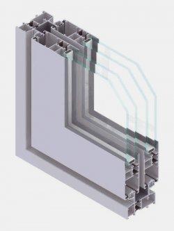 EL75 S serramenti scorrevoli