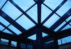 Montaggio di una copertura vetrata