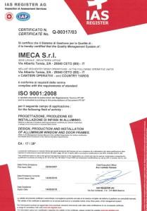 imeca_serramenti_alluminio_certificazione_ISO_2016